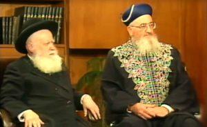 """תכנית מוסף המוספים עם מרן הרב מרדכי אליהו והרב אברהם שפירא זצוק""""ל"""