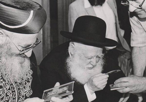 הרב-אברהם-שפירא-והרב-מרדכי-אליהו