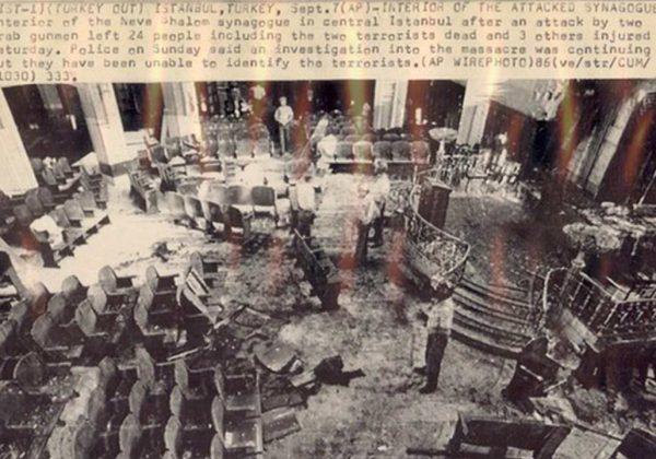 תמונת-אולם-בית-הכנסת-נווה-שלום-בתורכיה-לאחר-הפיגוע