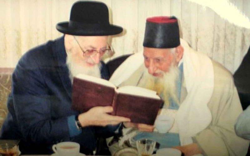 הספדו הנרגש של מרן הרב על המקובל האלוקי רבי יצחק כדורי זיע